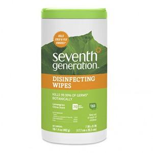 Дезинфектор органический в салфетках от Seventh Generation 70шт