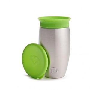 Термо-чашка Munchkin 360 градусов Зеленая