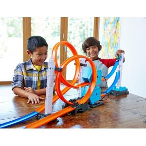 Трек Hot Wheels Track Builder System с ускорителями