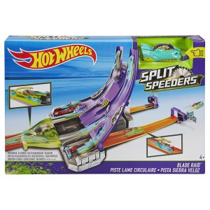 "Трек Hot Wheels Split Speeders ""Молниеносные половинки"""