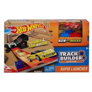 Трек Hot Wheels Track Builder Rapid пусковая установка