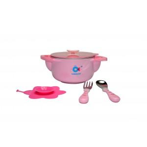 Набор детской посуды 3 в 1 Babyhood