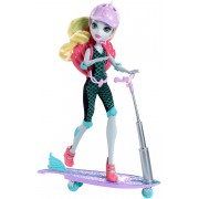 "Кукла Лагуна Блю на скутере серии ""Школа монстров"" Monster High"