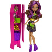 "Кукла Клодин Вульф со шкафчиком серии ""Школа монстро"" Monster High"