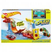 Крутые горки для ванной Hot Wheels Splashdown Station Play Set
