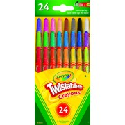 Гибкие восковые мелки Crayola 24 шт.