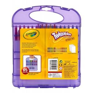 Выкручивающиеся восковые карандаши Crayola 65 шт.