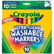Фломастеры легкосмываемые Crayola 10 шт.