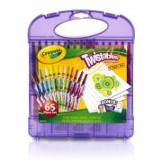 Гибкие восковые мелки Crayola 65 шт.