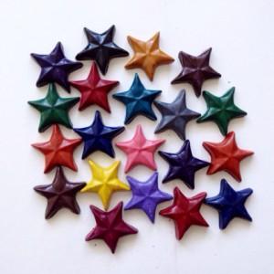 Мелки - Звездочки Eco stars 20 штук от Crazy Crayons
