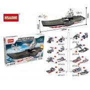 Конструктор Hsanhe Military Maritime Морской авианосец 17 в 1
