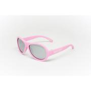 Детские солнцезащитные поляризационные очки BABIATORS Polarized Pink