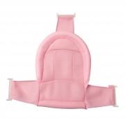 Горка натяжная в ванночку, розовая Babyhood