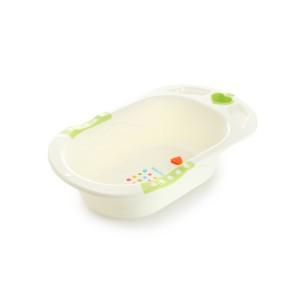 Ванночка Кодейт, бело-зелёная Babyhood