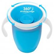 Чашка для малышей с ручками Munchkin 360 Cup (голубая)