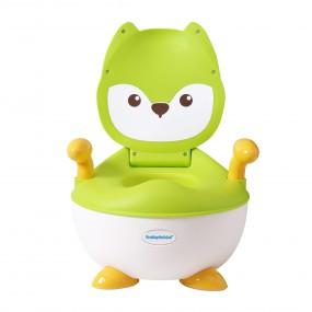 Детский горшок Лисица, зеленый - Babyhood