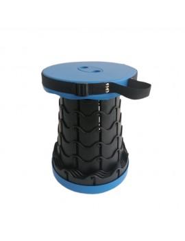 Складной дорожный стульчик, сине-черный
