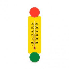 Термометр комнатный на пластиковом основании Светофор П-16