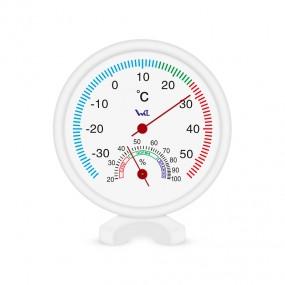Термогигрометр комнатный на пластиком основании ТГК-2