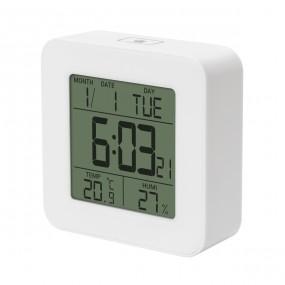 Цифровой термо-гигрометр Т-19, белый